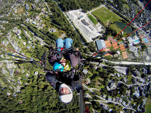Volar en parapente en Chamonix